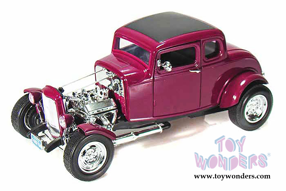 1932 Ford Hot Rod Hard Top by Motormax Timeless Classics 1/18 scale ...