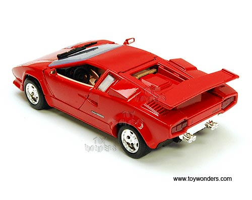 lamborghini countach hard top 73219r 6 1 24 scale motormax. Black Bedroom Furniture Sets. Home Design Ideas