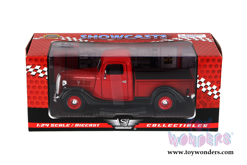 1937 Ford Pickup Truck By Showcasts Collectibles 1 24 Scale