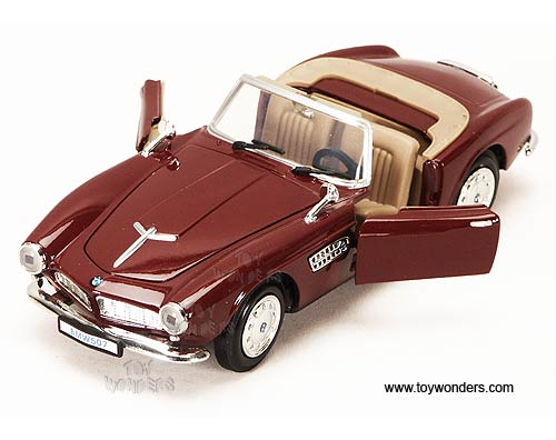 1955 bmw 507 Convertible by Showcasts 1/24 scale diecast model car ...