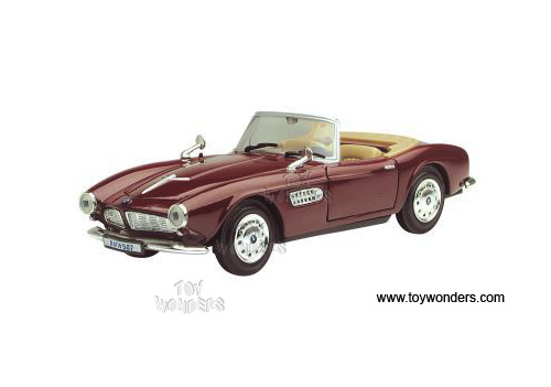 1955 bmw 507 Convertible by Motormax 1/24 scale diecast model car ...