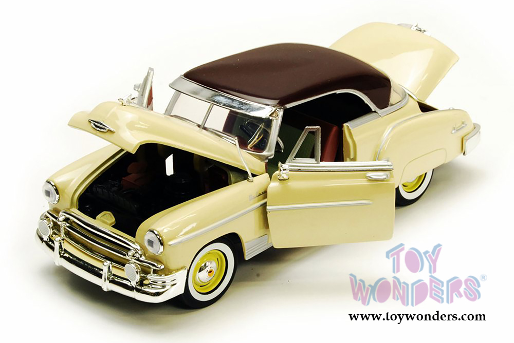 1950 Chevy Bel Air Hard Top 73268AC/YL 1/24 scale Showcasts ...
