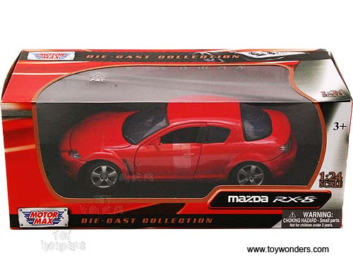 Mazda Rx 8 Hard Top By Motormax 1 24 Scale Diecast Model Car