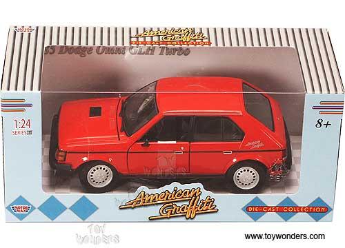 1985 dodge Omni GLH Turbo by Motormax American Graffiti 1