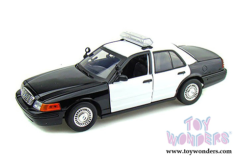 Motormax Ford Die Cast Police Car Mmx