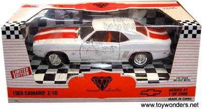 Chevy Camaro Z-10 (1969, 1:18, White) 7719