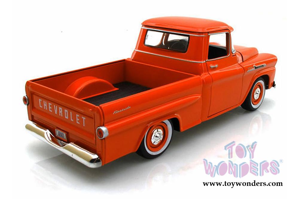 1958 Chevy Apache Fleetside Pickup Truck 79311acor 124 Scale