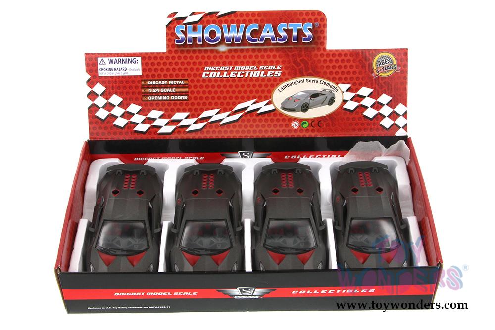 showcasts lamborghini sesto elemento hard top 124 scale diecast model car
