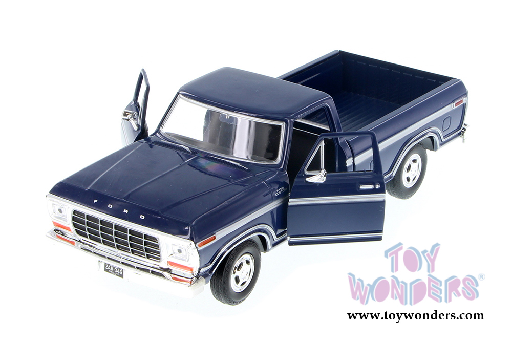 Ford F  Custom Pickup Truck By Motormax   Scalecast Model Car Wholesale