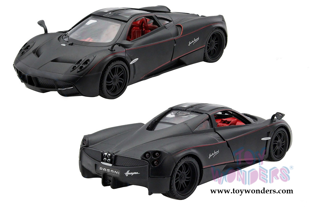Pagani Huayra with upward-opening doors 1/24 scale diecast model car ...