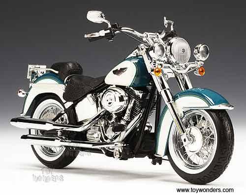 2009 harley davidson FLSTN Softail Deluxe Motorcycle by die cast ...