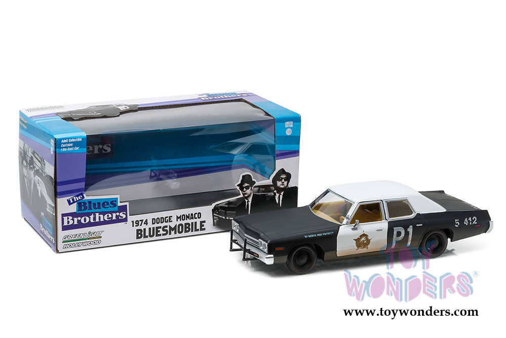 Greenlight Hollywood - Dodge Monaco Chicago Police Department The Blues  Brothers