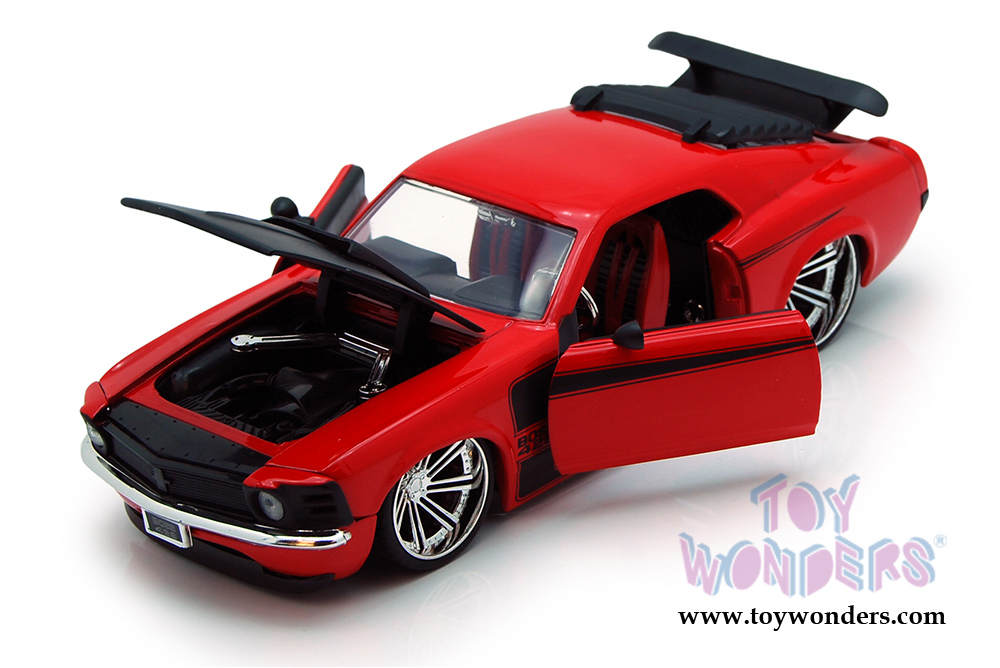 1970 Ford Mustang Boss 429 Hard Top 90348 1 24 Scale Jada