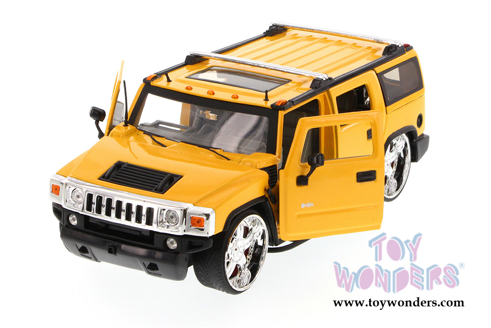 Hummer H2 By Jada Toys Time Kustoms 1 24 Scale Cast Model Car Whole 90403