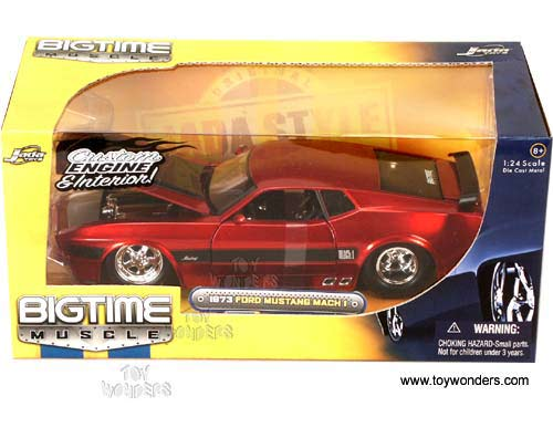 Popular Toys In 1973 : Ford mustang mach hard top by jada toys bigtime