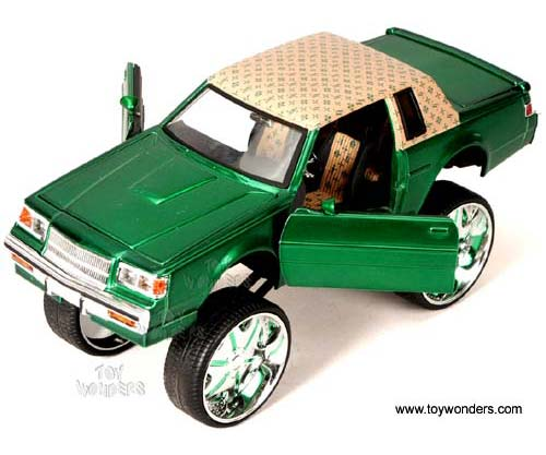 Jada Toys Donk Box Bubble Buick Regal 1987 1 24 Scale