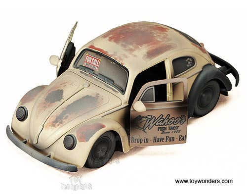 Jada Toys For Sale - Volkswagen Beetle Hard Top (1959, 1:24) 91254