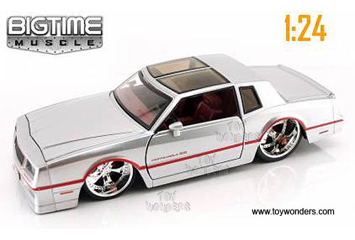 1986 Chevy Monte Carlo T Top By Jada Toys Bigtime Muscle 1 24 Scale