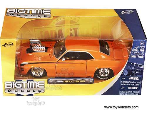 1969 Chevy Camaro Hard Top W Engine Blower By Jada Toys Bigtime