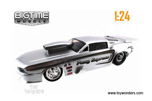 1967 Shelby Gt500 Funny Car Hard Top By Jada Toys Bigtime Muscle 1