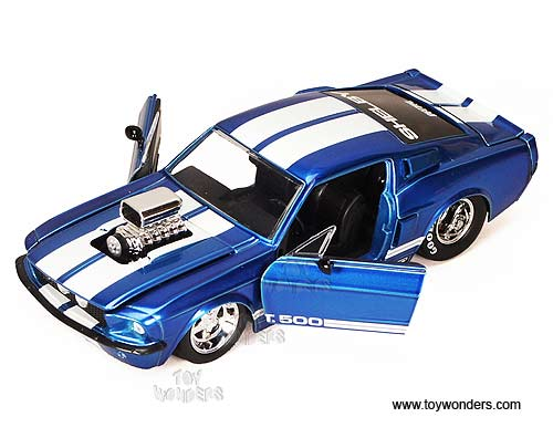 1967 Shelby Gt500 Hard Top W Engine Blower By Jada Toys Bigtime