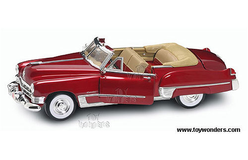 1949 cadillac Coupe Deville Convertible by Yatming 118 scale