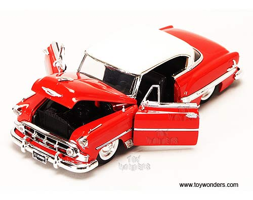 Toys From 1953 : Chevy bel air hard top by jada toys showroom floor