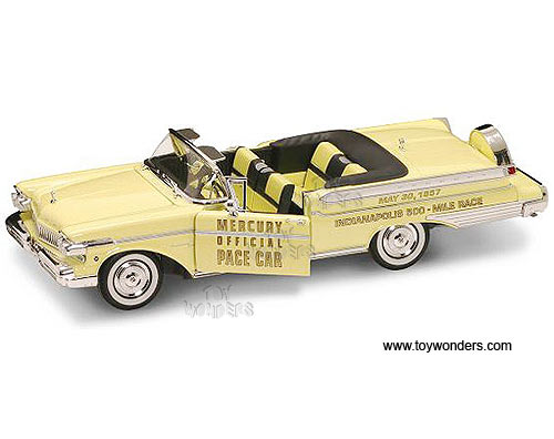 Yatming - Mercury Turnpike Cruiser Pace Convertible (1957, 1:18, Yellow) 92576YL