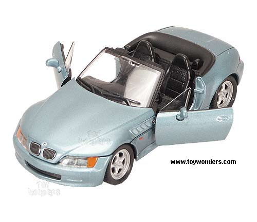 Bmw Z3 Roadster Convertible By Welly 1 24 Scale Diecast