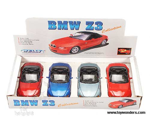 Bmw Z3 Hard Top: Bmw Z3 Roadster Convertible By Welly 1/24 Scale Diecast
