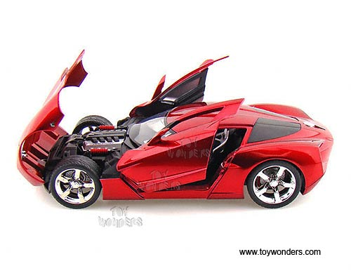 2009 Chevy Corvette Stingray Concept Hard Top By Jada Toys
