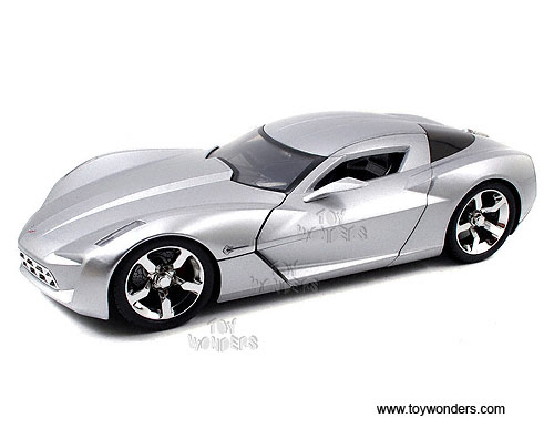 2009 Chevy Corvette Stingrey Concept Hard Top 96326sv 118 Scale