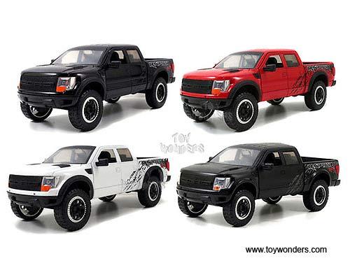 Jada Toys Bigtime Kustoms Ford F  Svt Raptor Pickup