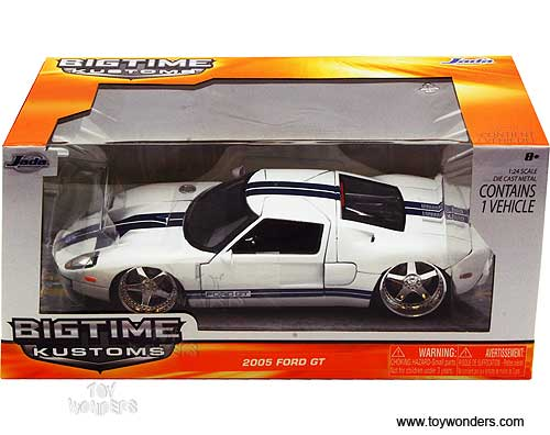 Jada Toys Bigtime Kustoms Ford Gt Hard Top  Scale