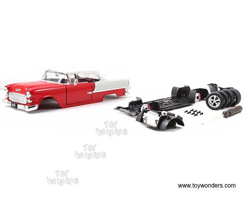 Garage worx kustom kits chevy bel air hard top 1 24 for Garage bel auto 38400