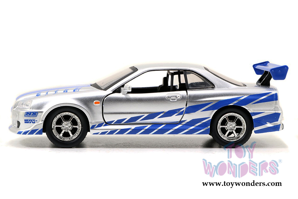 jada toys fast furious brians nissan skyline gt r hard top 1 - Fast And Furious Cars Skyline