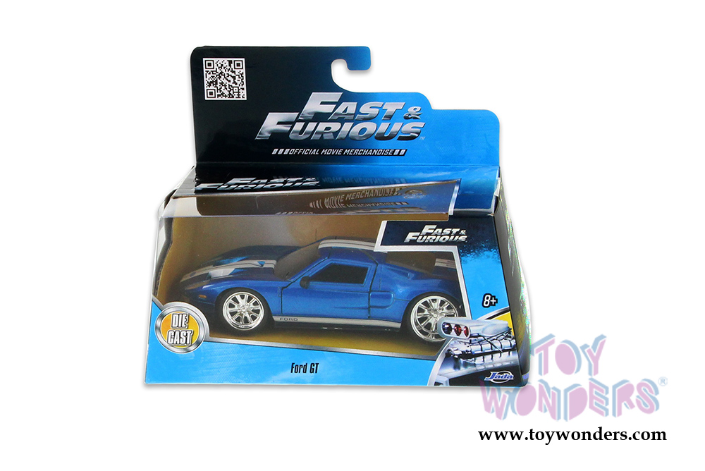 Jada Toys Fast Furious Ford Gt Hard Top