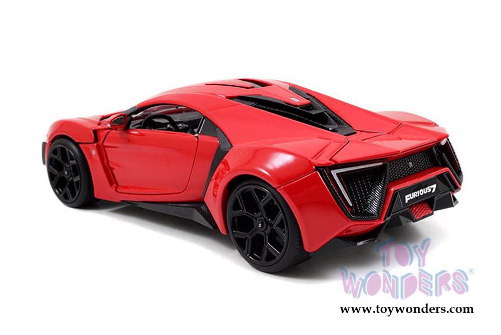 Lykan Hypersport Top View >> Jada Toys Fast Furious Lykan Hypersport Hard Top 97377 1 24