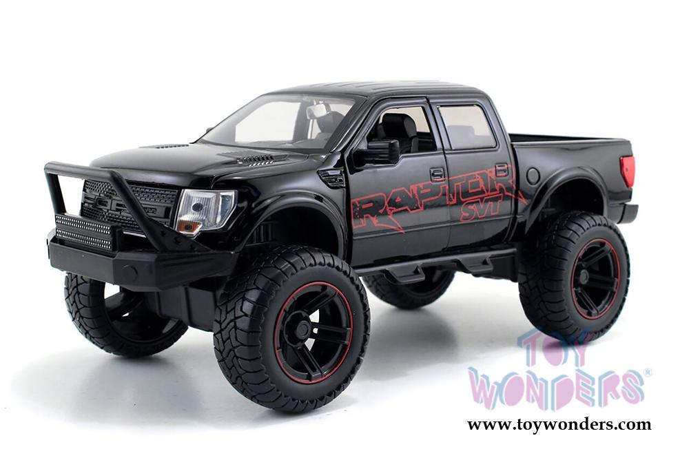 2011 ford f 150 svt raptor pickup 97479 1 24 scale jada toys bigtime kustoms wholesale diecast. Black Bedroom Furniture Sets. Home Design Ideas