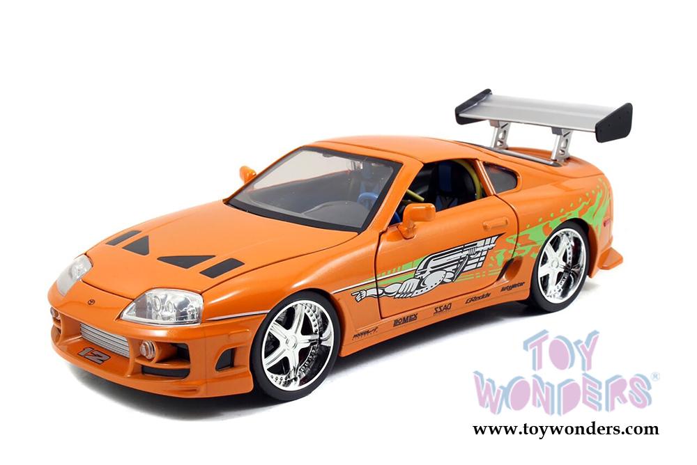 Jada Toys Fast & Furious - Brian's Toyota Supra Hard Top ...