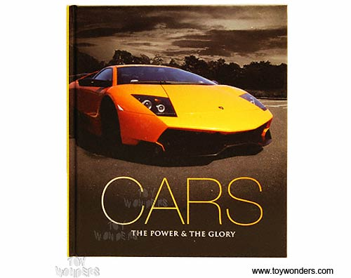 Book Cars The Power Amp The Glory By Bluered Press Ltd