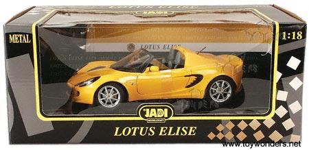 Jadi Lotus Elise 111s Convertible 2002 1 18 Yellow 98071
