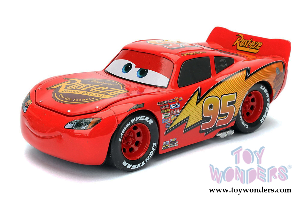 jada toys disney pixar cars lightning mcqueen 98099 diecast model toy. Black Bedroom Furniture Sets. Home Design Ideas