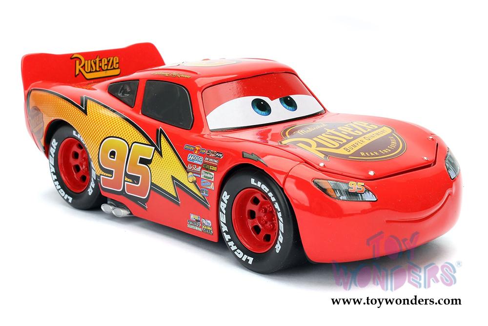 Jada Toys - Disney Pixar CARS   Lightning McQueen (1/24 diecast model toy  sc 1 st  Toy Wonders & Jada Toys - Disney Pixar CARS   Lightning McQueen 98099 diecast ...