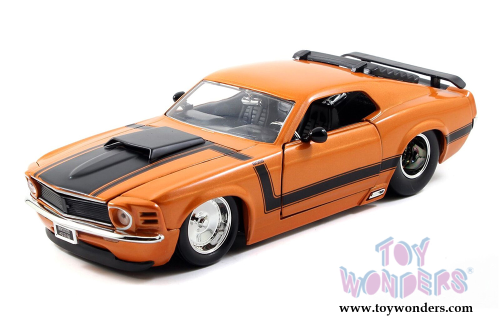 1970 ford mustang boss 429 hard top 98204dp1 1 24 scale. Black Bedroom Furniture Sets. Home Design Ideas
