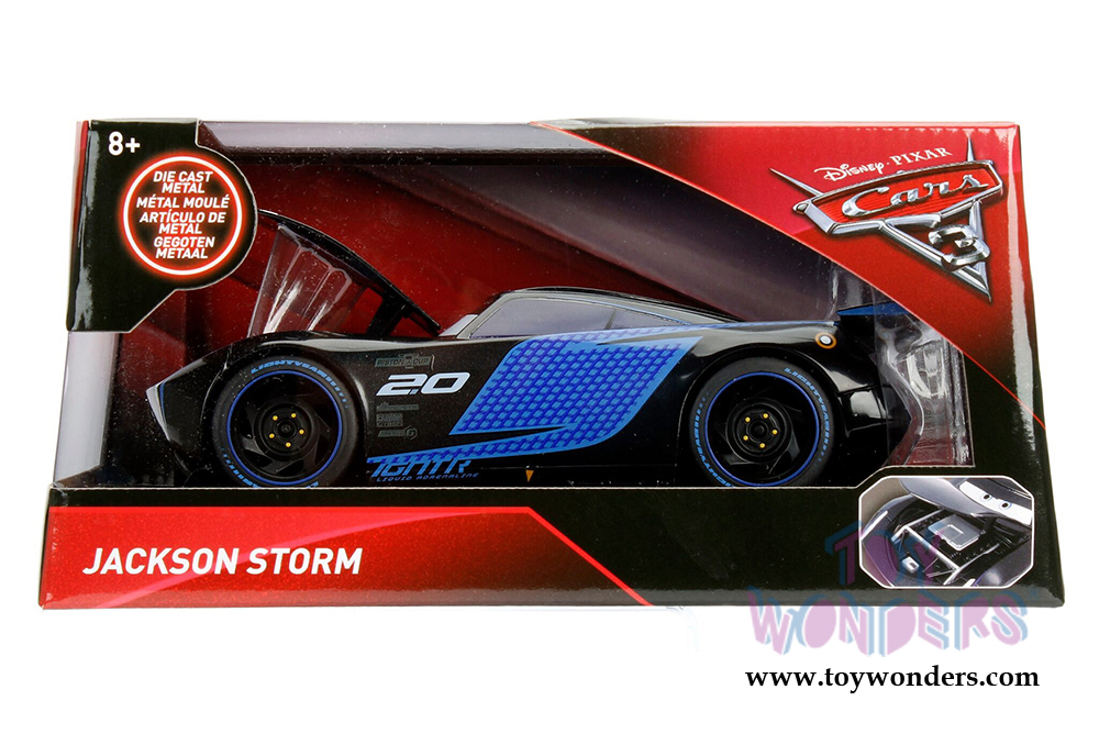 Jada toys disney pixar cars 3 jackson storm 98327 for Three jackson toy