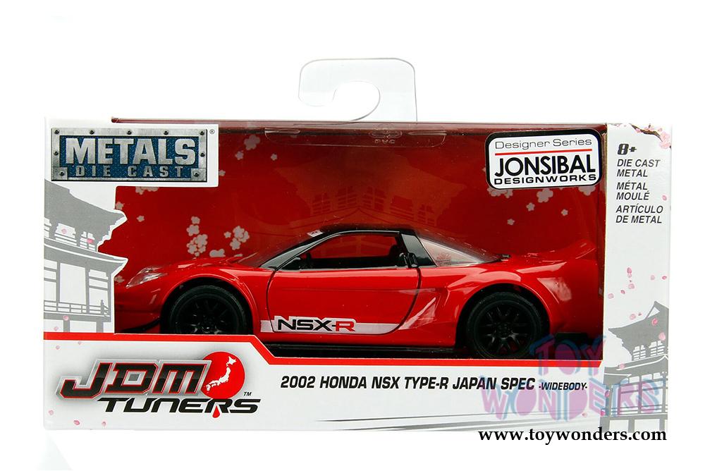 Jada Toys Metals Die Cast Jdm Tuners Honda Nsx Wide Body Hard