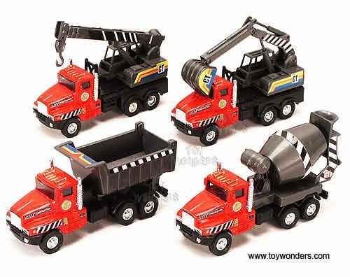 Toy Construction Trucks : Toy diecast power construction truck d wholesale