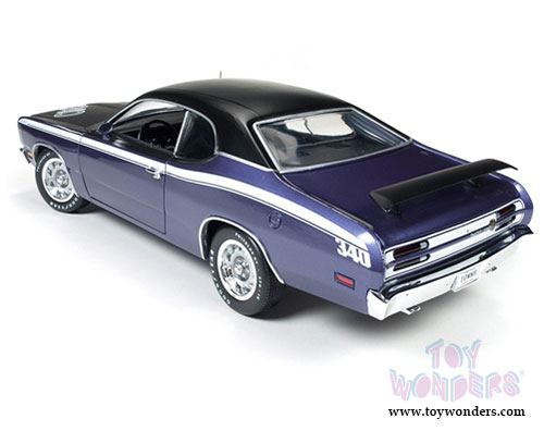 1971 plymouth duster 340 hard top amm1052 1 18 scale auto world ertl wholesal. Black Bedroom Furniture Sets. Home Design Ideas