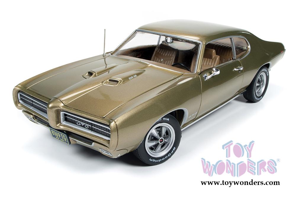 1969 Hemmings Muscle Machines Pontiac GTO Hard Top AMM1081 1/18 ...